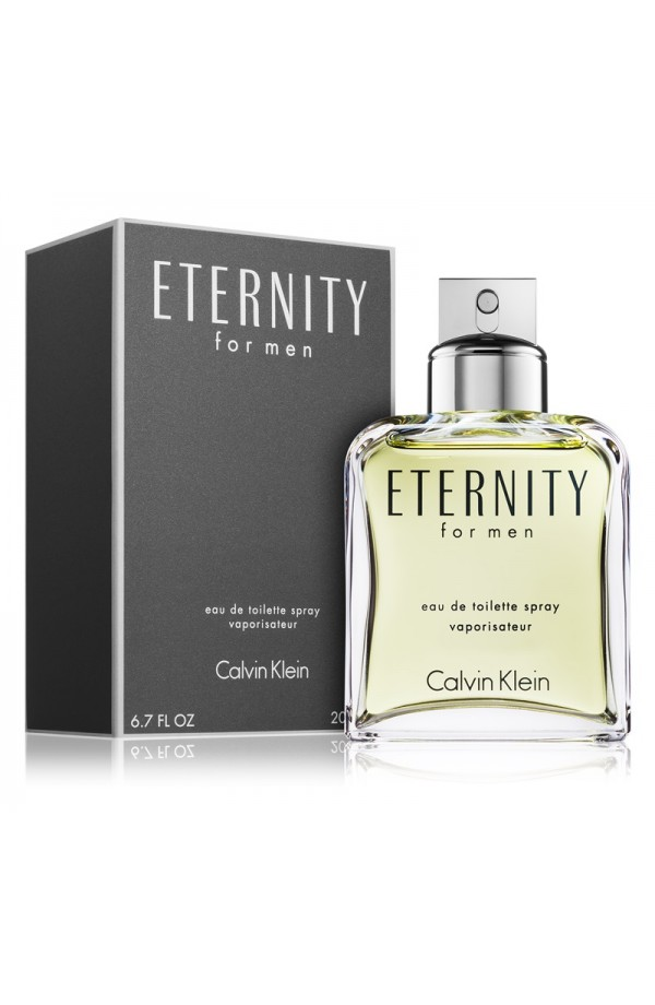 CK ETERNITY MEN 6.7 EDT SP 200ml